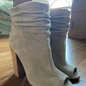 Kristin Cavallari Suede Booties, never been worn